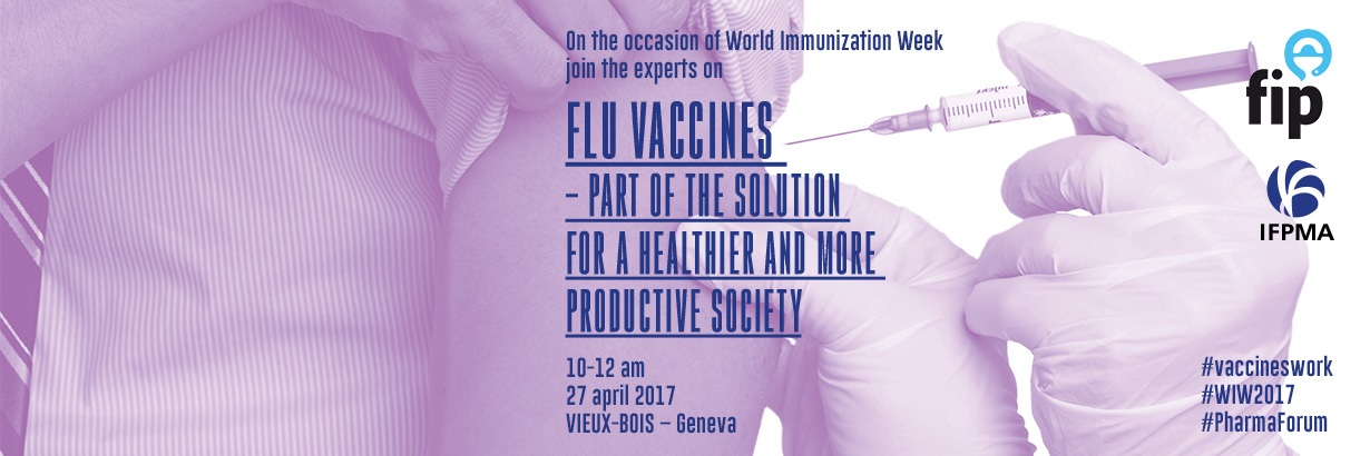Flu Vaccines – part of the solution for a healthier and more productive society