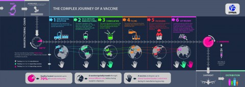The complex journey of a vaccine