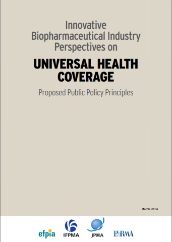 Innovative biopharmaceutical industry perspectives on universal health coverage, proposed public policy principles (2014)