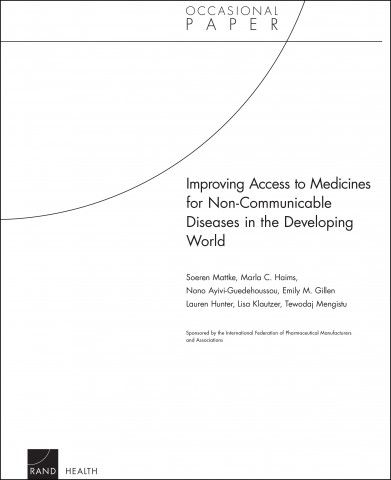 Improving access to medicines for non-communicable diseases in the developing world