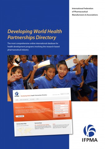 Developing world health partnership directory flyer