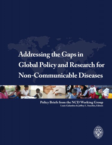 Addressing the gaps in global policy and research for non-communicable diseases