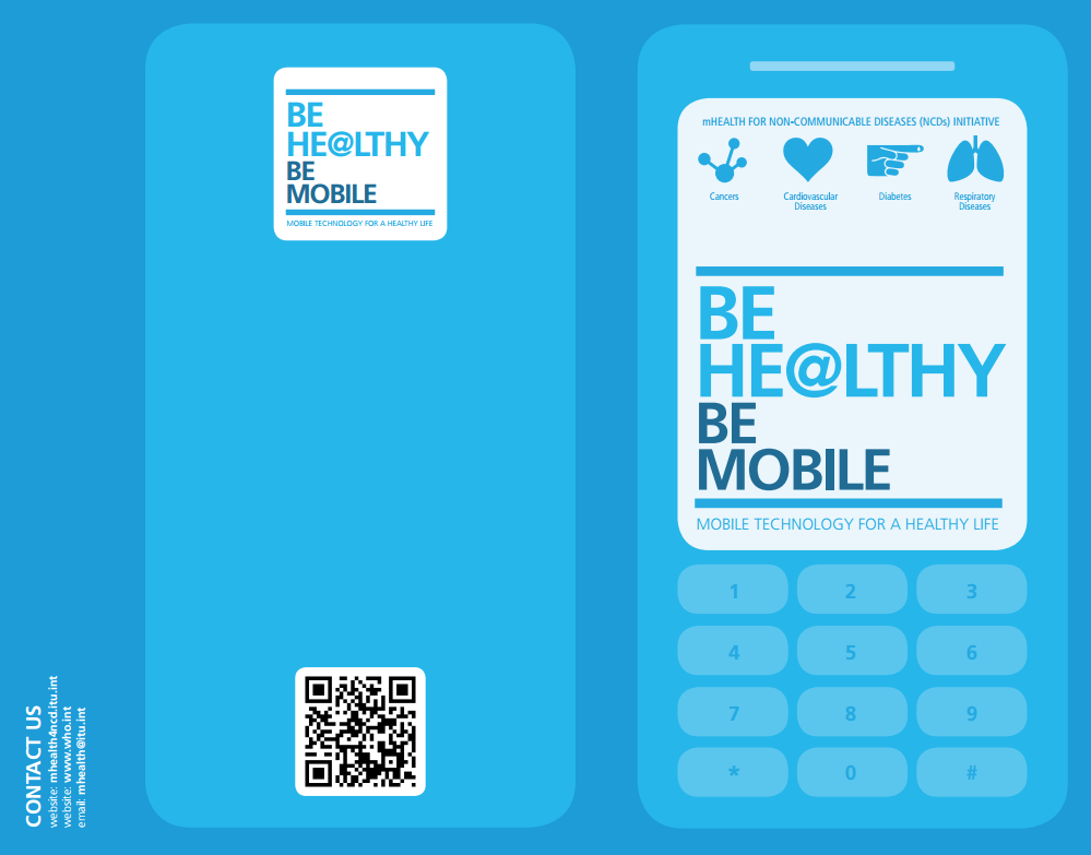 Be He@lthy, Be Mobile Flyer