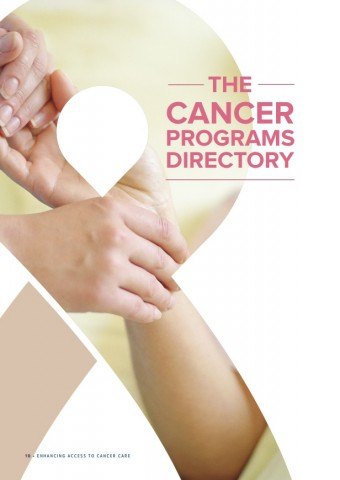 Enhancing access to cancer care – Directory access programs