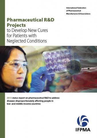 2013 Pharmaceutical R&D projects to develop new cures for patients with neglected conditions