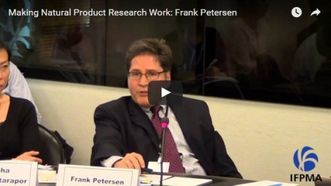 Making natural product research work: Frank Petersen