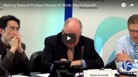Making natural product research work: Mark Crowell