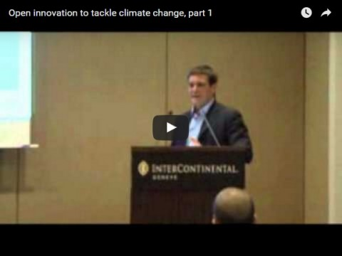Open innovation to tackle climate change, part 1