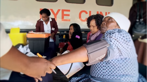 Phelophepa train of hope