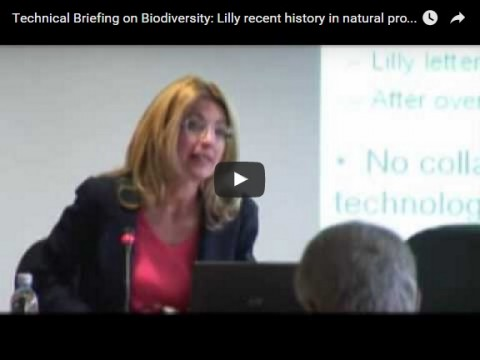 Technical Briefing on Biodiversity: Lilly recent history in natural products research, part 1