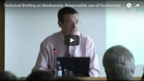 Technical Briefing on Biodiversity: Responsible use of biodiversity – Industry perspective, part 3