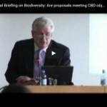 Technical Briefing on Biodiversity: Are proposals meeting CBD objectives - Conclusions, part 1