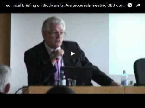 Technical Briefing on Biodiversity: Are proposals meeting CBD objectives – Conclusions, part 2