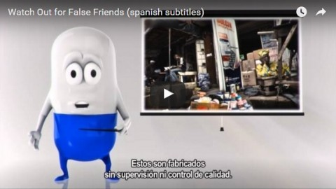 Watch out for false friends (Spanish subtitles)