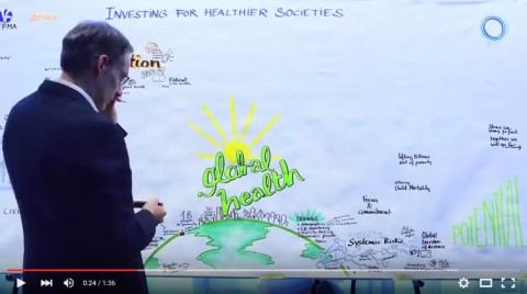IFPMA global health conference 4 November 2014 graphic recording