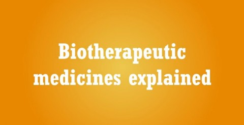 Biotherapeutics: position papers (part I)
