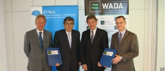 IFPMA & WADA Joint Declaration on Cooperation in the Fight against Doping in Sport