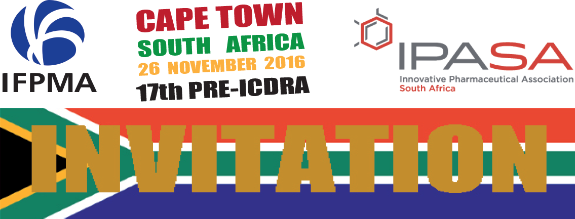 IFPMA @preICDRA2016 prior to the 17th International Conference of Drug Regulatory Authorities