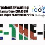Too slow for too long:  ICDRA will put a spotlight on access to medicine in Africa, and the power of collaboration