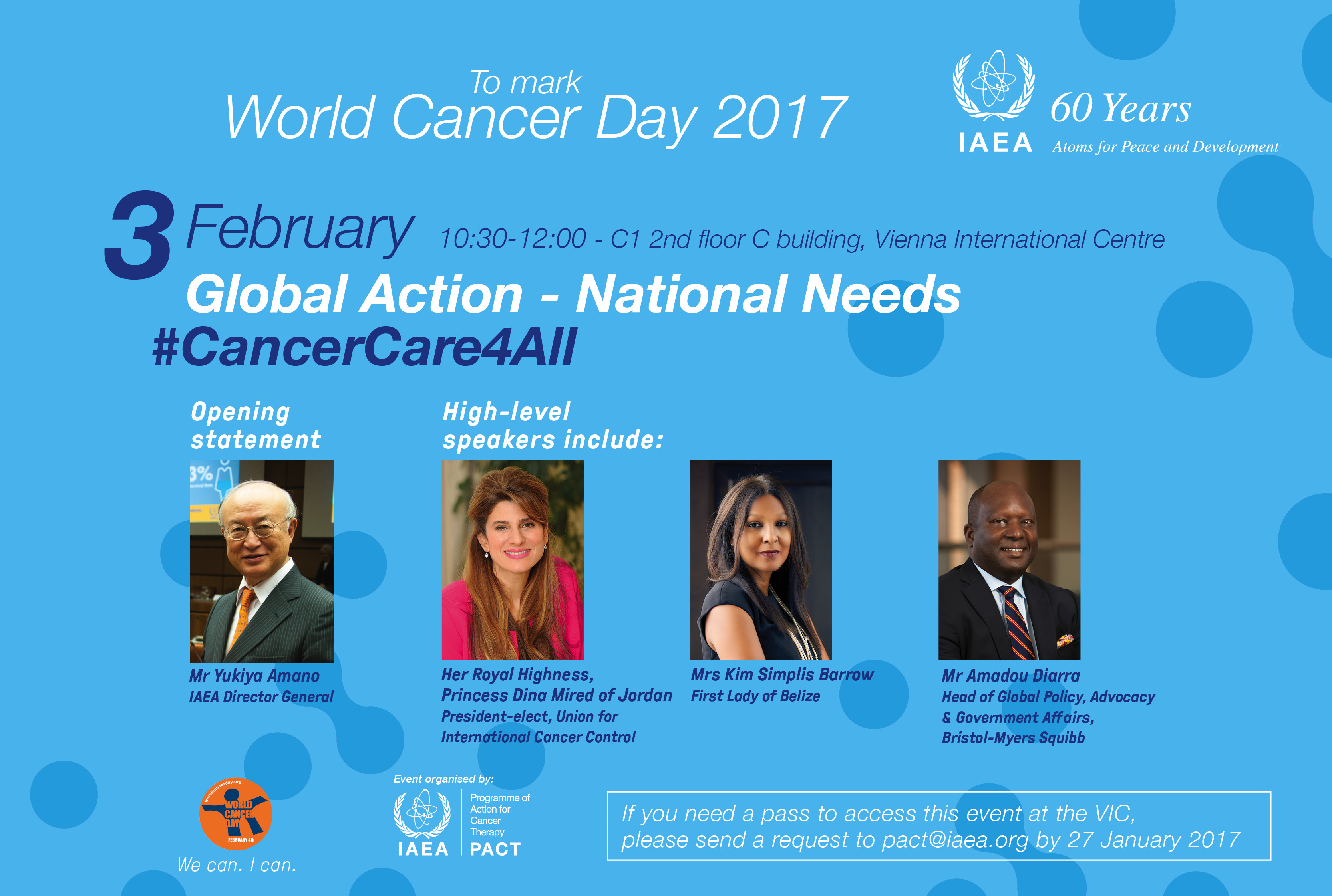 IAEA PACT Global Action - National Needs #CancerCare4All