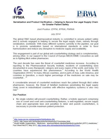 Joint-Industry-Position-Paper-on-Serialization-and-Product-Verification-