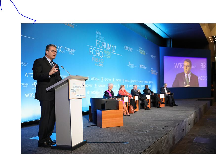 """WTO Public Forum 2017: """"Trade: Behind the Headlines"""""""