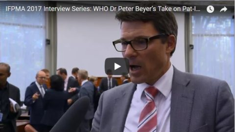 IFPMA 2017 Interview Series: WHO Dr Peter Beyer's Take on Pat-INFORMED