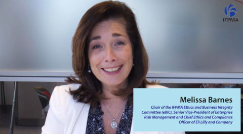 IFPMA Code of Practice 2019 - Introduction by Melissa Barnes, Chair of the IFPMA Ethics and Business Integrity Committee (eBIC) (Video)