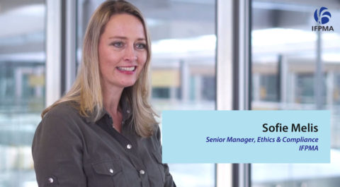 IFPMA Code of Practice 2019 – Q&A with Sofie Melis, Senior Manager, Ethics & Compliance (IFPMA) (Video)