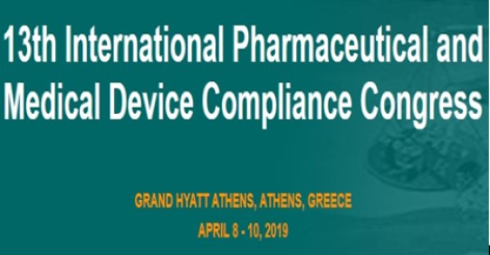 13th International Pharmaceutical and Medical Device Compliance Congress