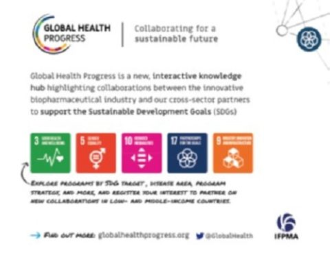 Global Health Progress – Collaborating for a sustainable future (flyer)