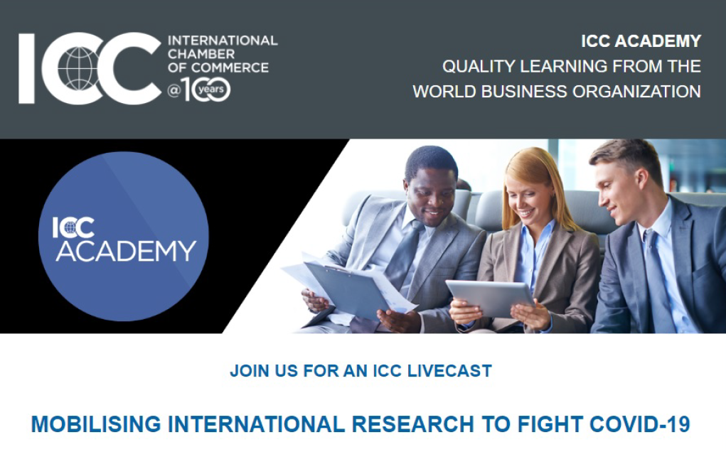 ICC Livecast - Mobilising International Research to fight COVID-19