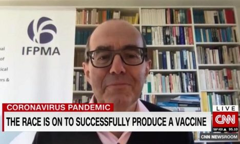 Interview - CNN - What might happen when a Covid-19 vaccine is ready?