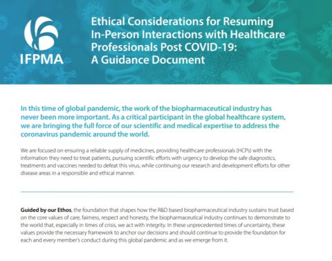 Ethical Considerations for Resuming In-Person Interactions with Healthcare Professionals Post COVID-19: A Guidance Document