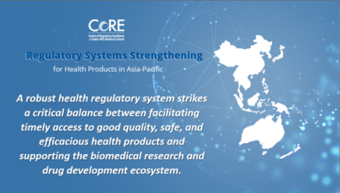 Regulatory System Strengthening for Health Products in Asia-Pacific