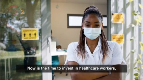 The Africa Young Innovators for Health Award – Promotional Health Care Professionals Video