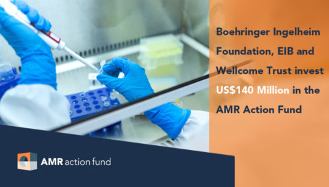 The AMR Action Fund announces its first non-industry investments, raising an additional US$140 million toward addressing antimicrobial resistance (AMR)