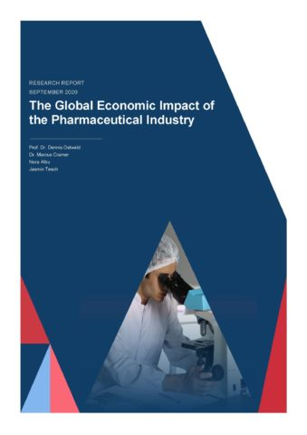 The Global Economic Impact of the Pharmaceutical Industry