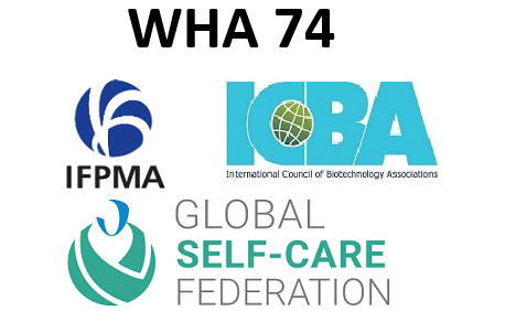 WHA 74 - IFPMA-ICBA-GSCF Statement on agenda item 13.4 Global strategy and plan of action on public health, innovation and IP