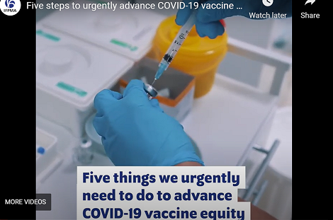 Five steps to urgently advance COVID-19 vaccine equity (video)