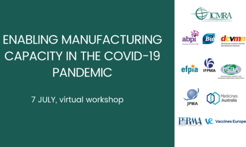 Global regulators and coalition of pharma and vaccine manufacturing associations come together to discuss COVID-19 pandemic response