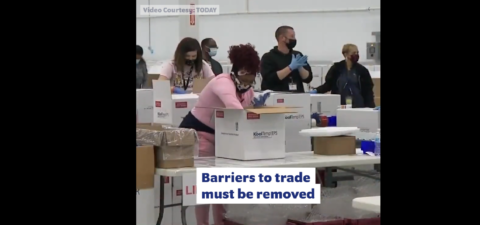 Why we must remove barriers to trade to achieve vaccine equity (Step #3)
