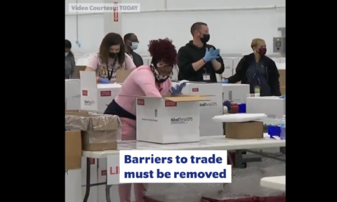 Removing barriers to trade to achieve vaccine equity (Step #3) Video